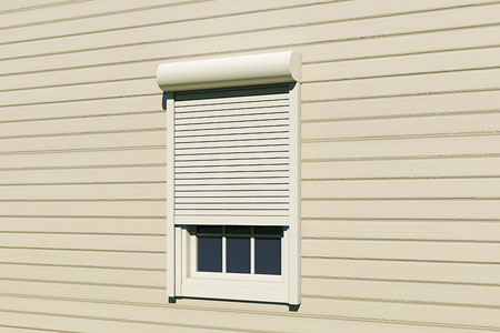 Shutter security rolling for Labor cost to install exterior shutters